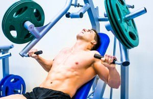 bodybuilder-doing-exercises