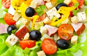 Healthy-vegetarian-salad